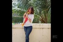 Calendar Girl Akanksha Puri roots for dry Holi