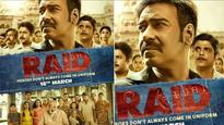 'Raid' poster | Ajay Devgn is all set for a face-off with Saurabh Shukla