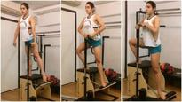 Watch: Saif Ali Khan's daughter Sara Ali Khan preps herself for 'Kedarnath' by doing pilates!