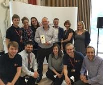 Fire service team crowned best in public sector