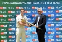 Australia's Test top rank hanging by a thread