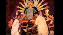 Watch: Mamata Banerjee writes theme song for popular Kolkata Durga Puja Pandal