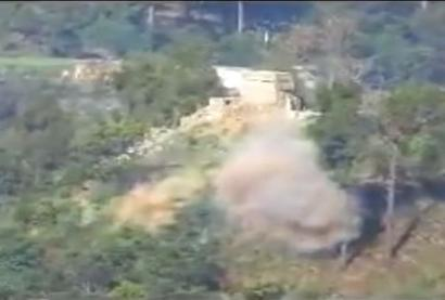 Video shows Indian Army destroying Pak bunkers with rockets