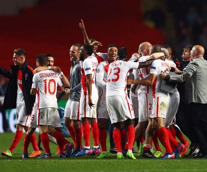 PHOTOS: Monaco knock Manchester City out of Champions League
