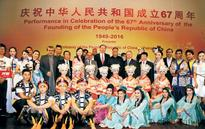 Chinese artists give superb performance