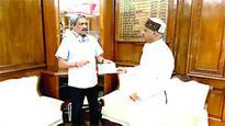 Industries minister Rajendra Shukla meets union ministers
