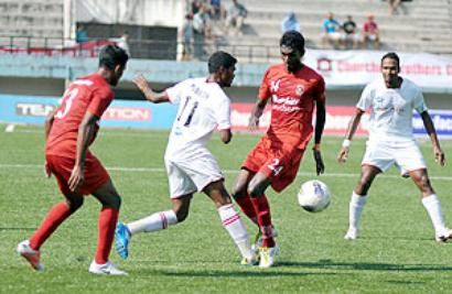 I-League: Churchill ground Air India to top table