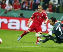 Shaqiri, Gomez steer treble-hungry Bayern to Cup final