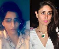 Sonam Kapoor Has a Query and Special Message for Kareena on Snapchat