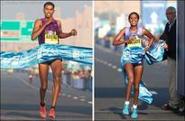 Ethiopians burn up the course as Abera and Tsegaye win Standard Chartered Dubai Marathon