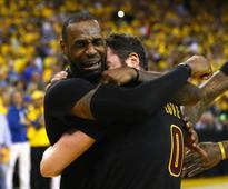 Cavaliers edge Warriors to complete greatest NBA comeback