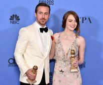 'La La Land' waltzes off with big win at Gold...