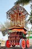 Sri Neelivaneswarar temple being renovated