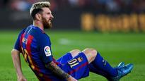 Messi injury overshadows Barca draw