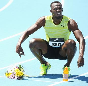 Life goes on for 'disappointed' Bolt after losing medal