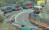 Landslides Block Jammu-Srinagar National Highway