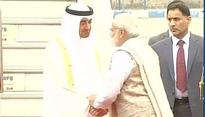 Crown Prince of Abu Dhabi Sheikh Al Nahyan graced India's Republic Day celebrations