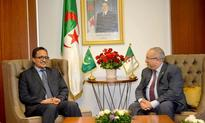 Lamamra holds talks with Mauritanian counterpart