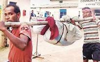 Odisha again: Now, woman's body broken at hip to carry it on bamboo pole