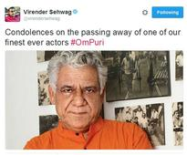 From Anupam Kher To Karan Johar ,Bollywood Mourns The Demise Of OM PURI; Say It's a Huge Loss To Indian...