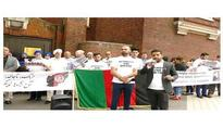 Afghans takes to London streets to protest against Pak-sponsored terrorism