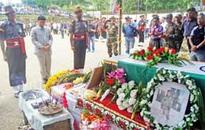 Martyred soldier Hangpan Dada laid to rest