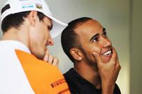 Monaco sun fails to thaw out Hamilton and Sutil feud