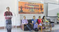 International Yoga Day observed across StateJune 22, 2016