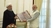 Iranian President Rouhani gifts PM Modi a copy of Mahabharata in Farsi