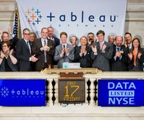 Tableau Software Celebrates Public Debut as