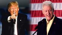 Donald Trump accuses Bill Clinton of rape