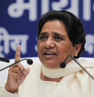 Maya warns UP: Watch out for 'communal design' of BJP, RSS