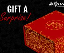 Manforce brings you a never-before gifting option for the newlyweds