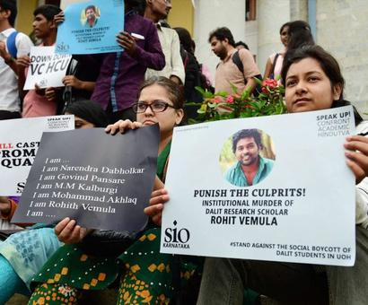 Rohith Vemula not a Dalit, says collector; Andhra govt to cancel SC certificate