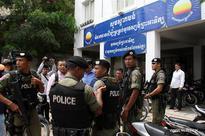 Police surround headquarters of CNRP to arrest Kem Sokha