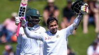 Bangladesh captain Mushfiqur Rahim felled by Tim Southee bouncer, taken to hospital