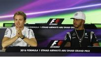 Relaxed Hamilton winning the mind games with nervy Rosberg