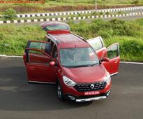Renault Lodgy Stepway world edition drives into Goa