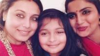 SEE PIC: Rani Mukerji finally makes an appearance, her selfie with family goes viral on Internet!