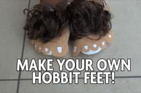 Hobbit Day: Be like Frodo and Bilbo Baggins with these crafty DIY feet