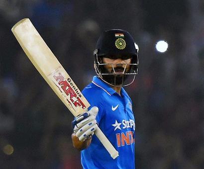 PHOTOS: Kohli's unbeaten century lifts India to victory