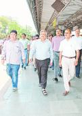 DRM takes charge in Dhanbad
