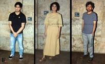 Director's special: Ayan, Karan, Kiran Rao at Ship of Theseus screening