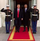 Obama and Trump head to Capitol Hill