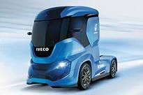 Italian Truck Maker Debuts Natural Gas-Powered Concept Truck