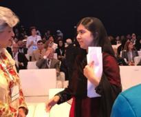 Malala Yousafzai spreads girls education message in UAE