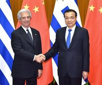 China, Uruguay vow to expand trade, investment cooperation