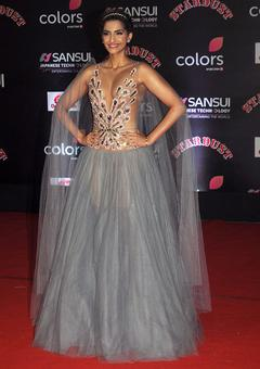PIX: Sonam, Harshvardhan win at Sansui Stardust awards