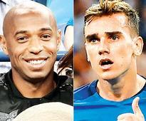 Thierry Henry compares Antoine Griezman to Zinedine Zidane, Michel Platini