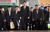 Samsung chief appears for second round of questions in graft probe